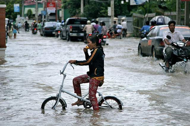 Flood in Siem Reap