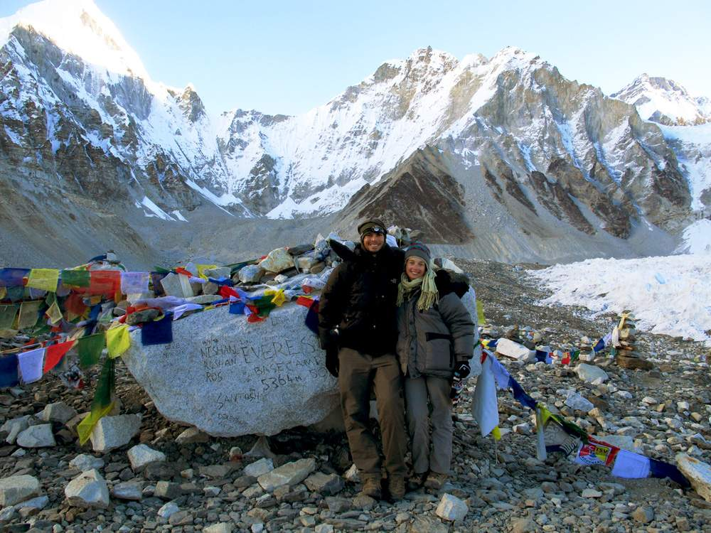 annie-and-matt-at-everest-base-camp