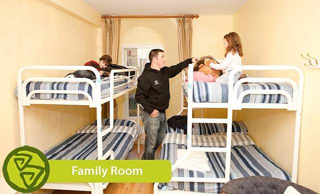 Family hostel room