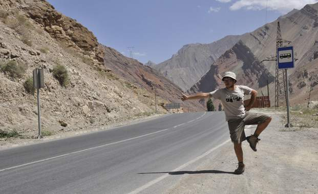 HitchingTajikistan-home page