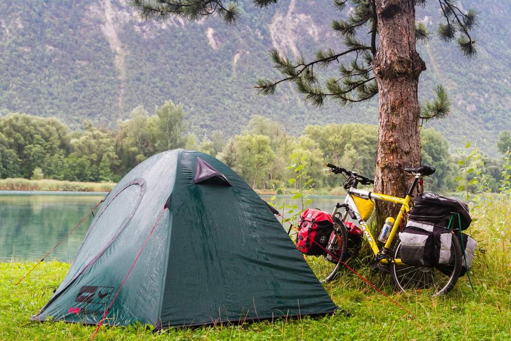 bike tour camp