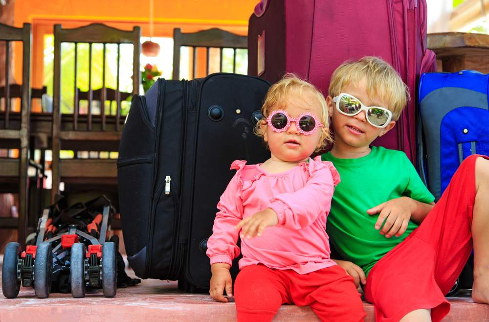 kids in a hostel