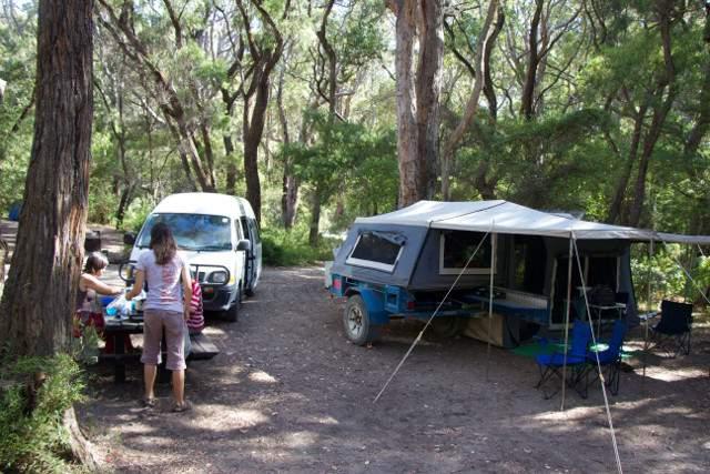 Camping- Western Australia Leeuwin State Forest (Boranup campsite)