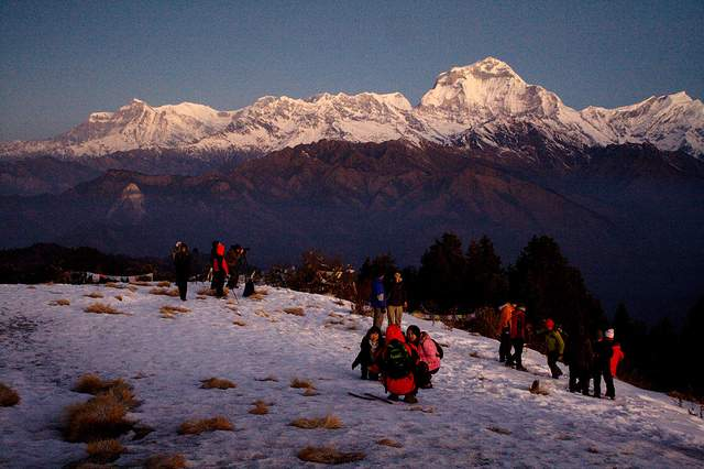 Poon Hill on Annapurna Sanctuary Trek