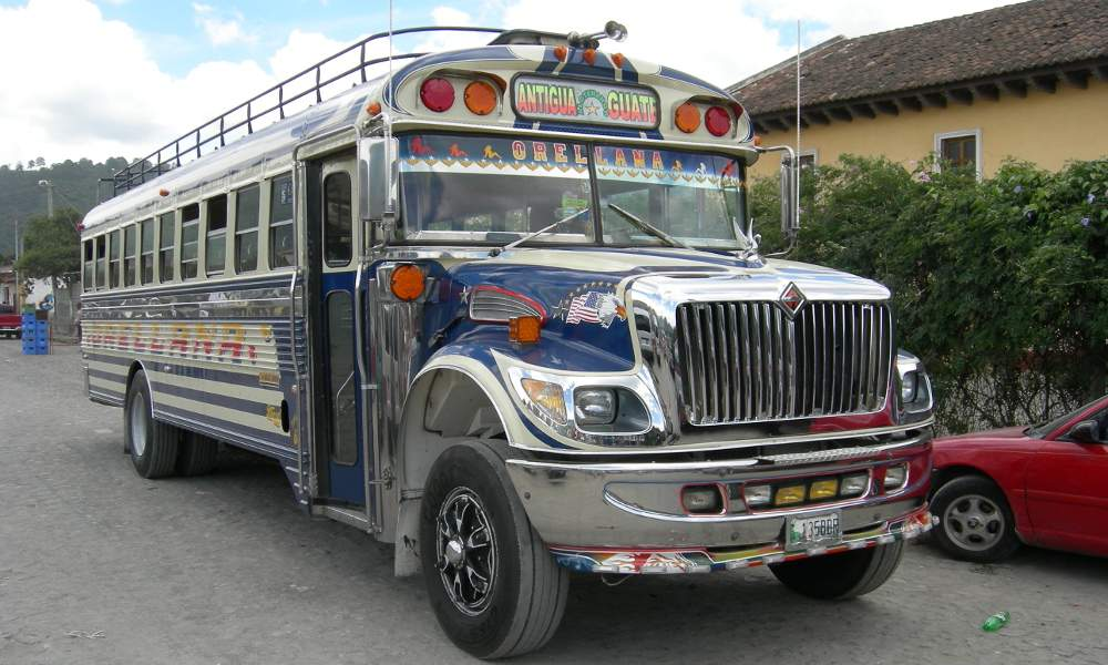 Guatemala Bus