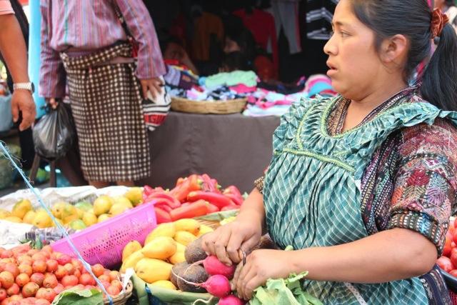 Market in Panajachel