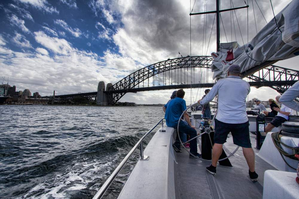 Sherry Ott sydney sailing 1