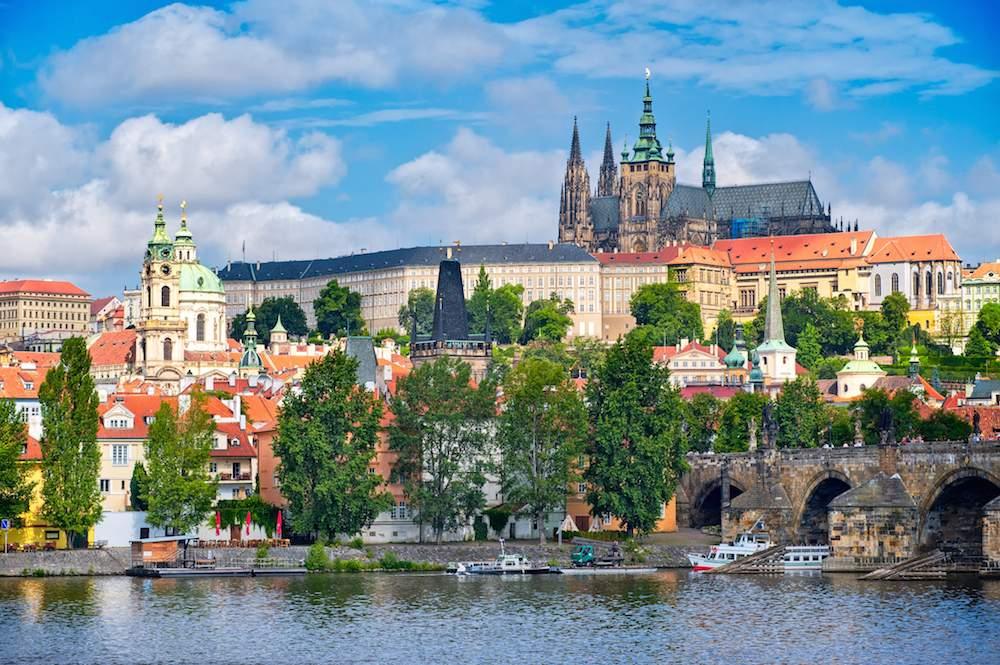 Prague Castle by Boris Stroujko Shutterstock