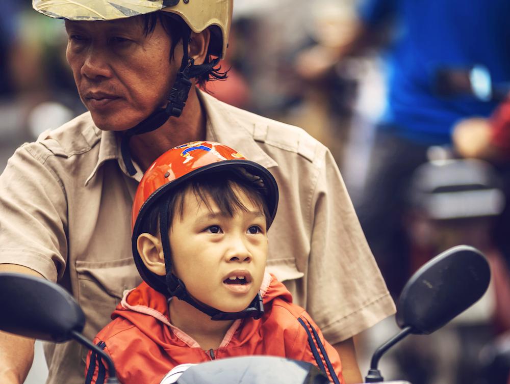 family safety helmet
