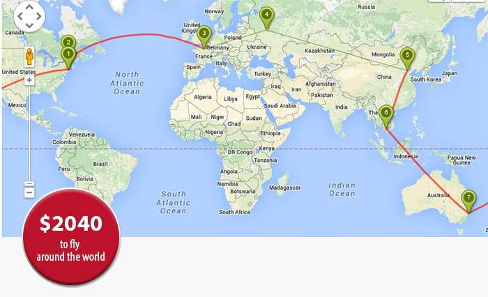 10 of the Best Value Locations for US Dollar Travelers in 2016 – World Travel Map Planner