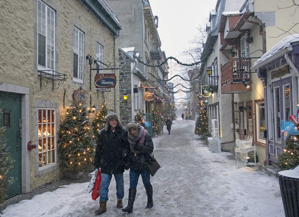 quebec city walking
