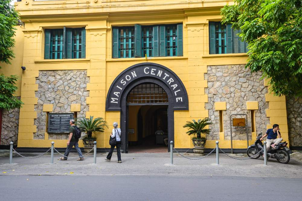 Historic Prison in Hanoi