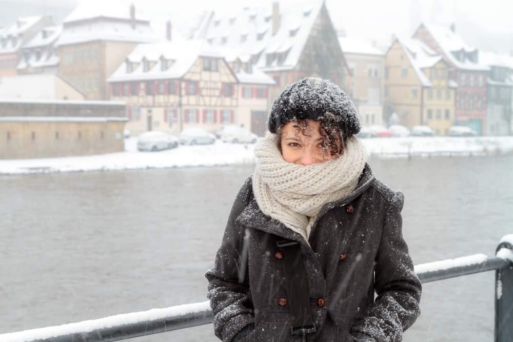 gap year student winter travel
