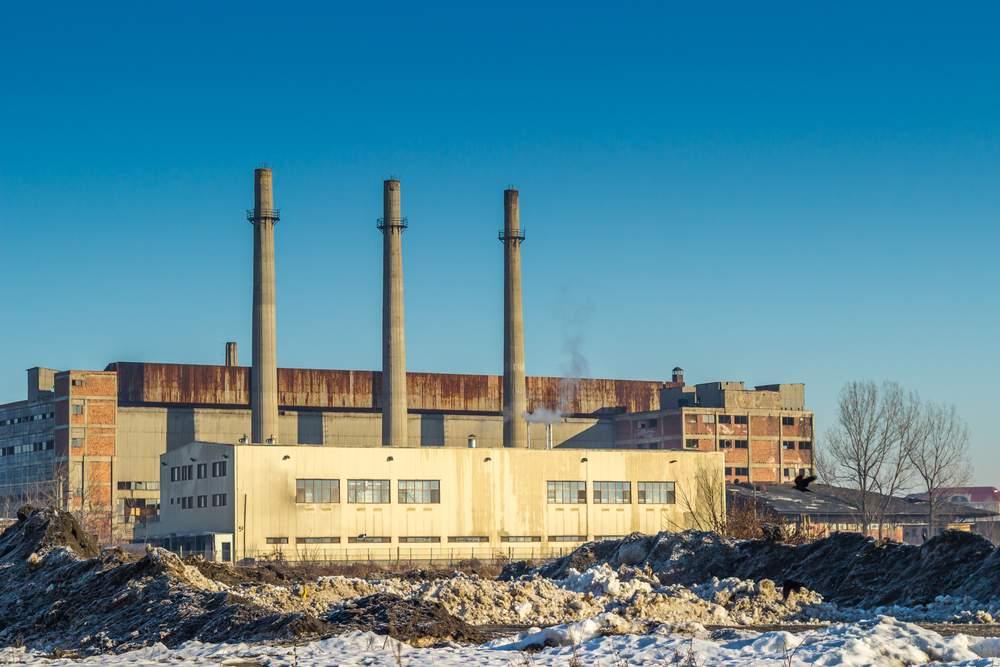 Old industrial area Belarus