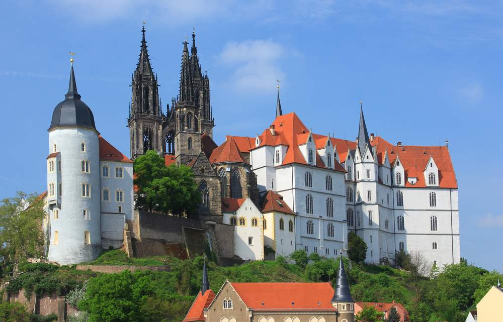 Castle in Meissen, Germany