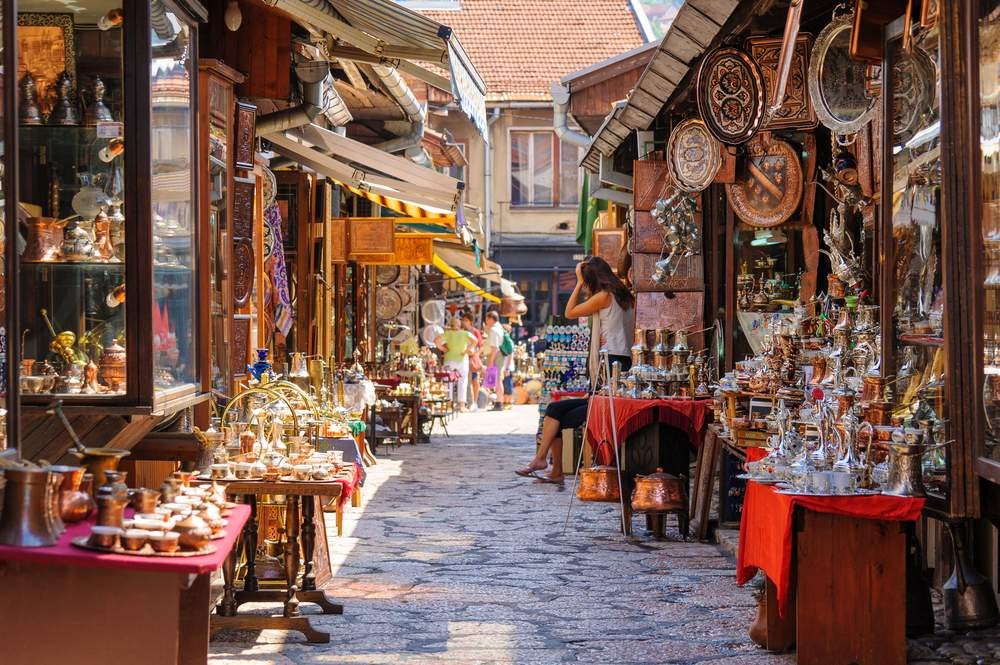 Street, Old Town Sarajevo