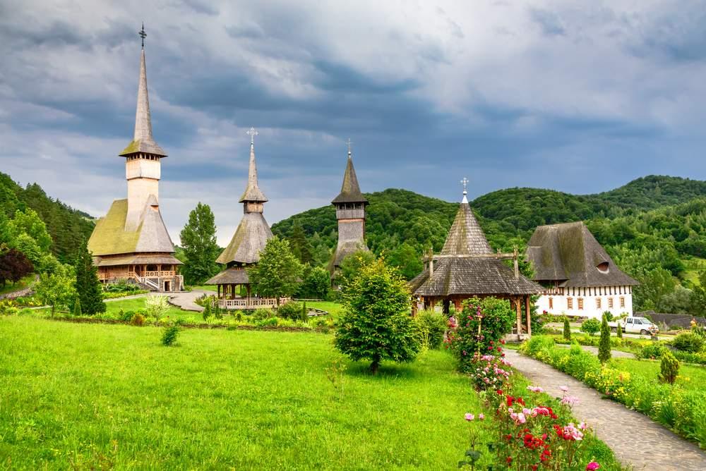 Maramures Romania, Barsana Monastery