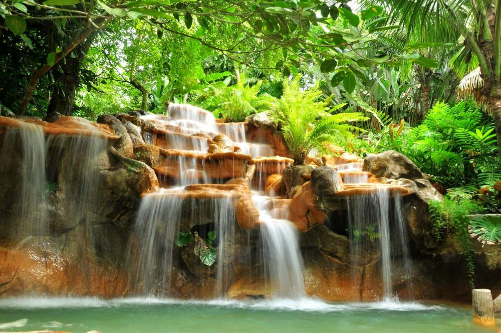 Relax in the hot springs near Arenal Volcano, Costa Rica