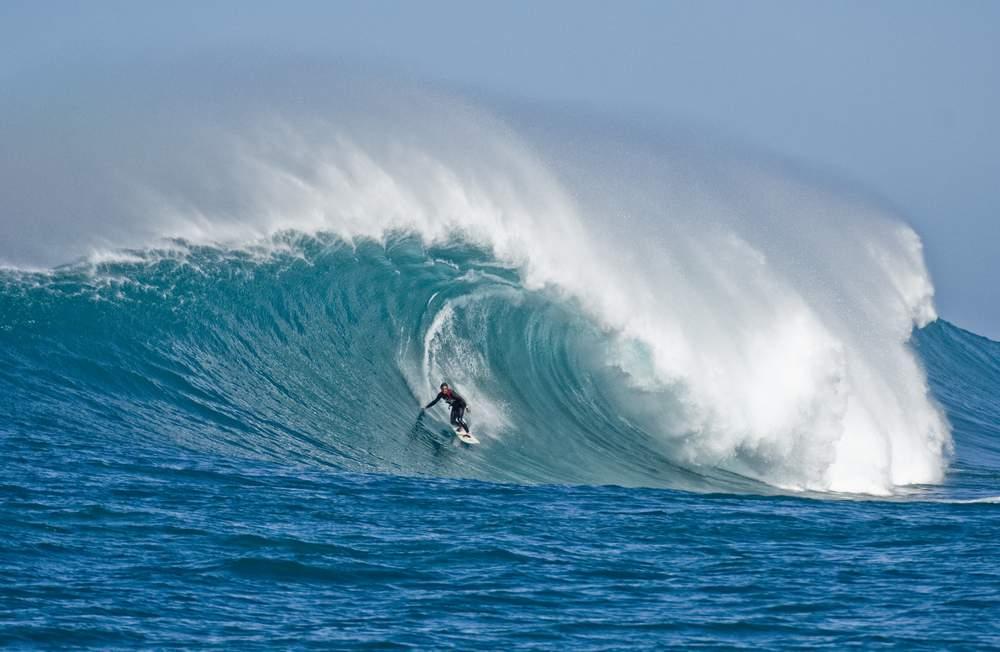 Catch a dangerous wave