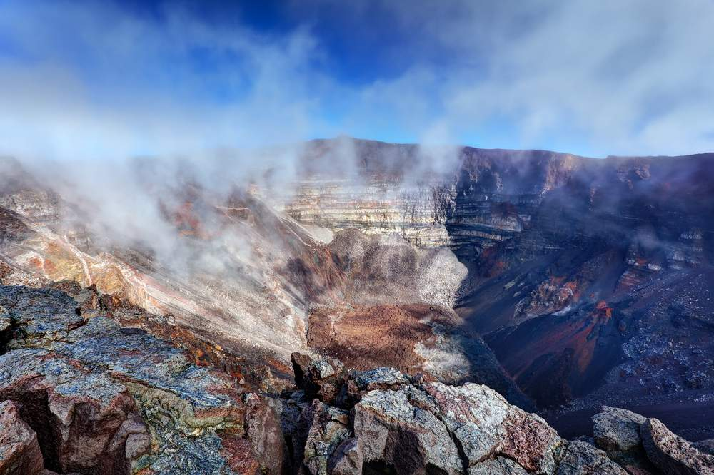Volcano Island Crater