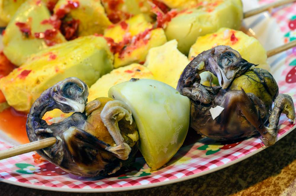Odd foods, Balut from the Philippines