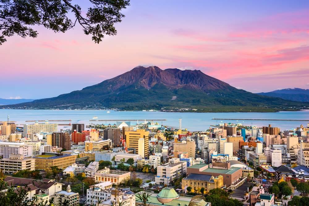 Active Volcano, Japan