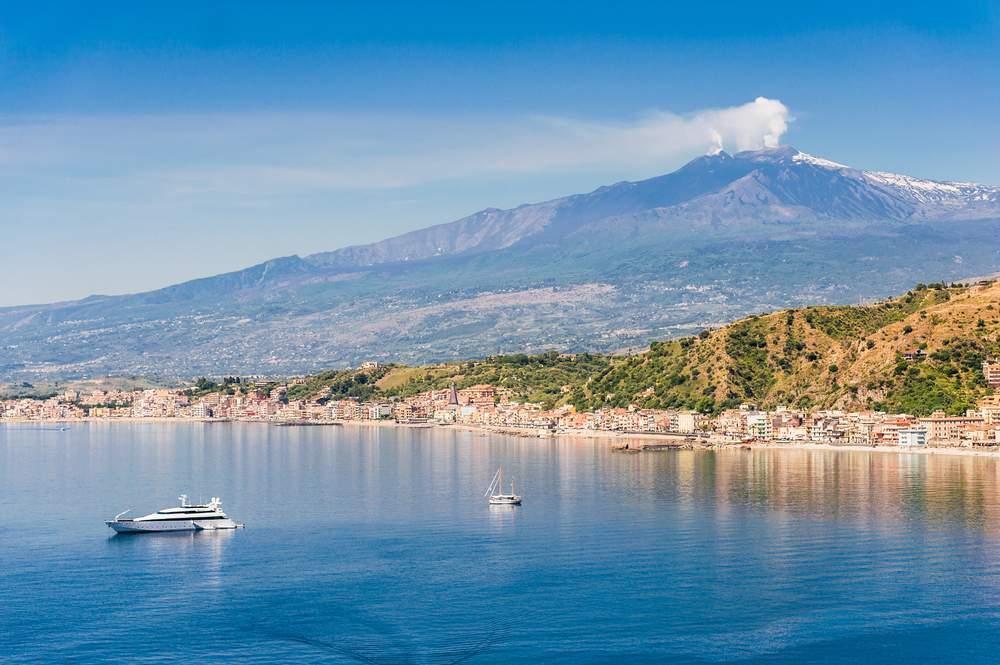 Volcano in Italy