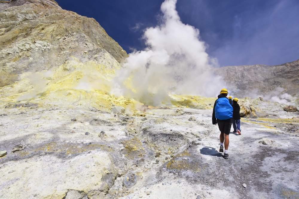 Volcano, New Zealand