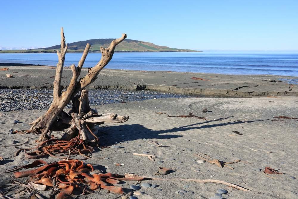 Gemstone Beach, New Zealand