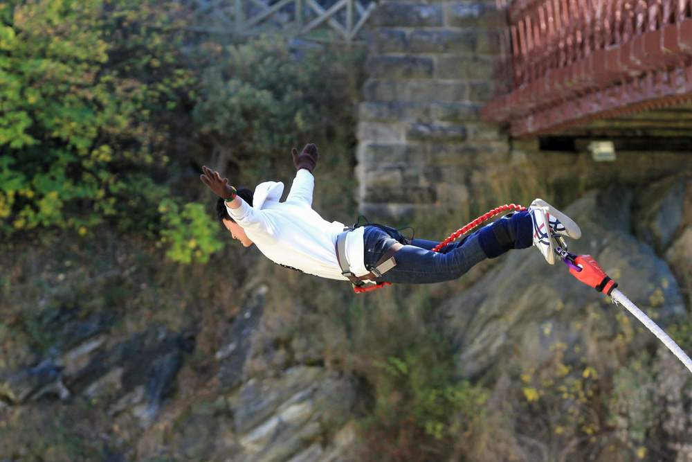 New Zealand Adventure Sports Bungee Jumpin