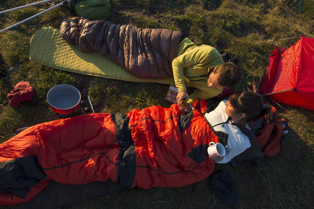 choose the right sleeping bag