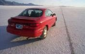 My Naughty Cruise Down Utah's Bonneville Salt Flats