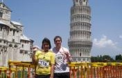 My First Marathon – Pisa, Italy