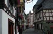Grapes, Castles, and the Rhine in Bacharach, Germany