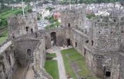 Déjà vu and Legends in the Castles of North Wales