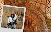 Traveler Postcard: Audrey and Daniel in Iran
