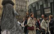 Following Street Performers in Vienna &#8211; Vienna, Austria