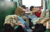 30 Hour Train Ride in China