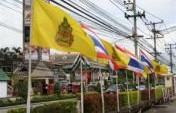 Thailands Yellow-Ribbon Coup &#8211; Chiang Mai, Thailand, SE  Asia
