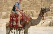 Hey Mister: Wanna Ride A Camel? – Giza, Egypt, Africa