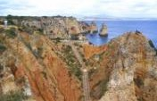 Along the Yellow Brick Road in Lagos &#8211; Portugal, Europe